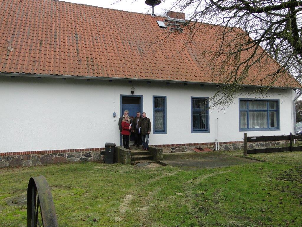 """Sanierung Gemeindehaus """"Alte Schule"""" in Rankwitz und Nutzung als Heimatmuseum"""