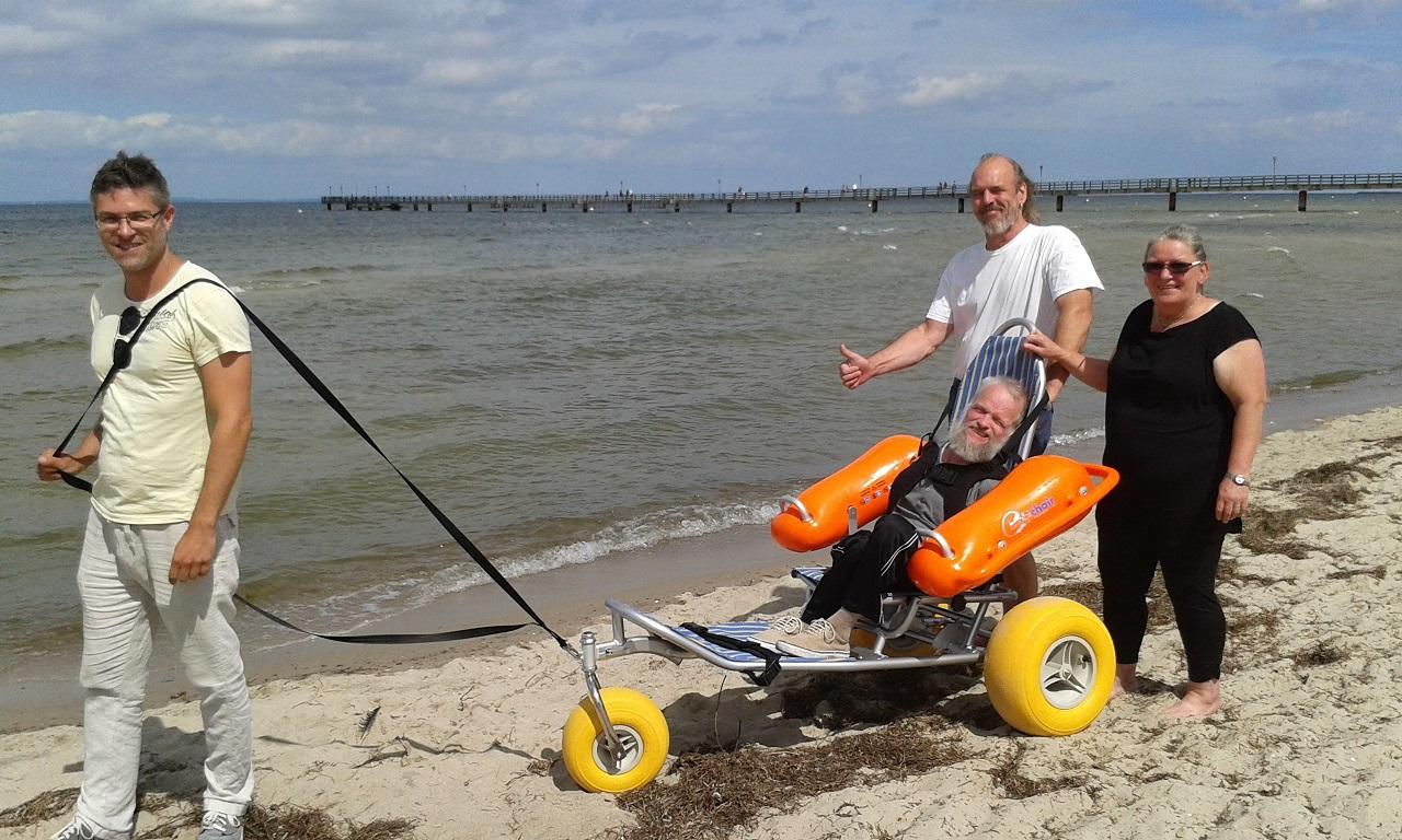 Service-Einheit für Mobilität der Badegäste, Lubmin