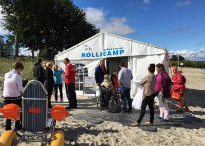 Einweihung des Rollicamp in Lubmin