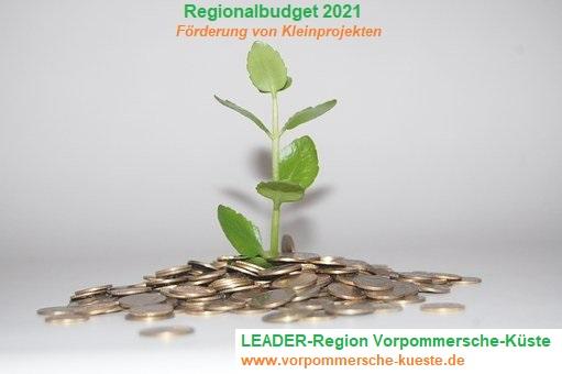 Regionalbudget 2021 - Fördermöglichkeit für kleine Projekte