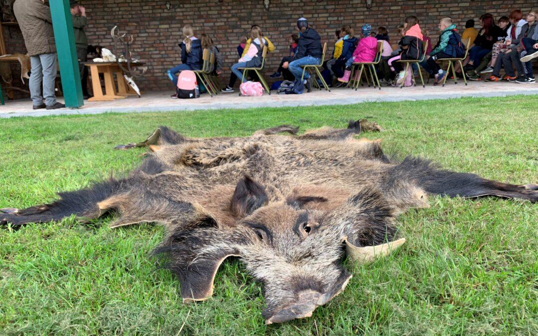 Unterkünfte für Jäger in Verbindung mit Naturschutzzentrum